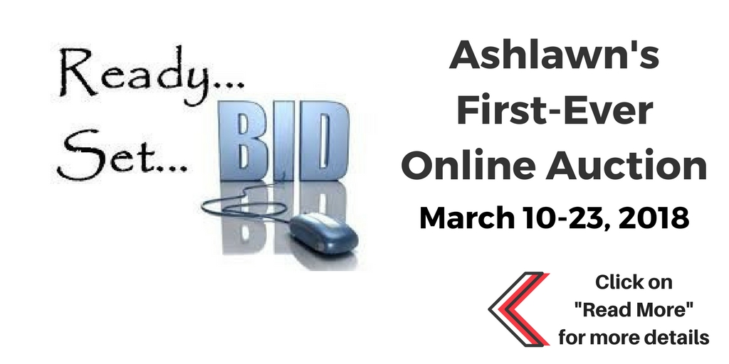 Ashlawn's First-Ever Online Auction Details