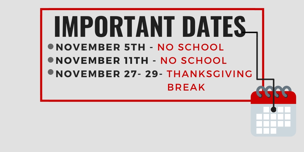 Important November Dates