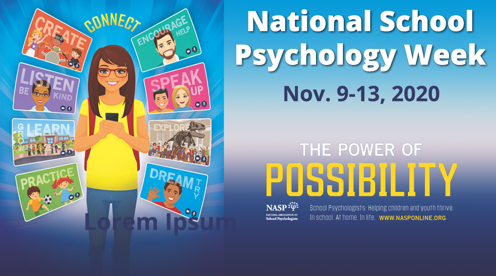 National School Psychology Week