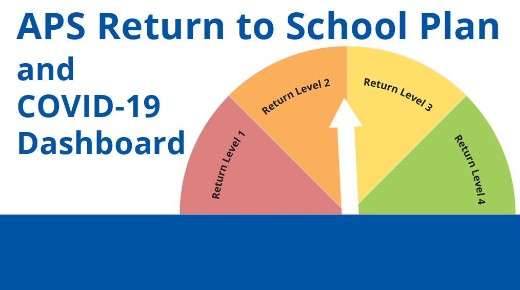 APS 학교 복귀 계획 업데이트 및 일정